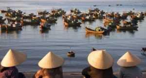 Речная рыбалка во Вьетнаме