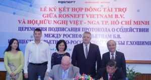 «Роснефть» собирается поддерживать русский язык в ВУЗах Вьетнама