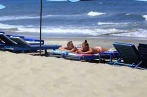 Пляж Хойана Cua Dai снова в строю