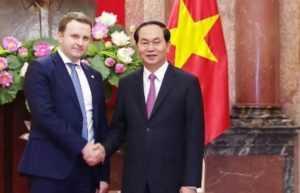 Развитие двусторонних связей России и Вьетнама
