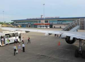 Международный аэропорт Фубай в Хюэ