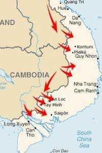 Ход войны во Вьетнаме определили поставки вооружений из Ханоя