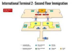Схема терминала №2 в Ной Бай