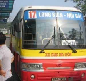 Внешний вид автобуса №17