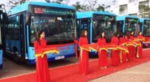 Первые белорусские автобусы МАЗ 208 появились во Вьетнаме
