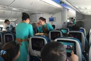 Стюардессы «Вьетнамских авиалиний»
