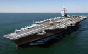 В Дананг прибудет авианосец США