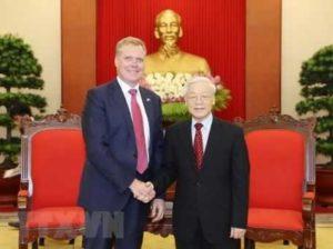 Визит спикера австралийской палаты представителей во Вьетнам