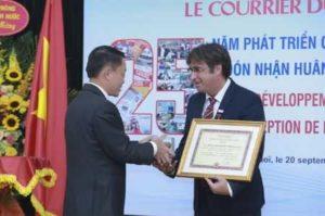 25 лет Le Courrier du Vietnam