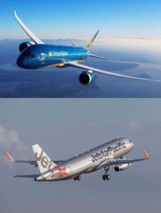 Vietnam Airlines и Jetstar Pacific среди самых безопасных