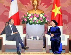 Переговоры представителей Франции и Вьетнама в Ханое