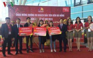 Первые иностранцы прибыли в Дананг в Новом Лунном году