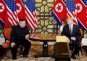 Дональд Трамп и Ким Чен Ын встретились в отеле Hotel Metropole