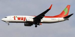 T'way Air запустили маршрут Инчхон-Камрань