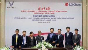 VinFast и LG Chem создают совместное предприятие