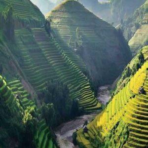Террасы рисовых полей в Mu Cang Chai ценил CNTraveler