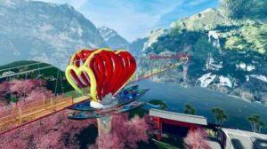 Скоро откроется стеклянный мост в Сон Ла