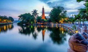 Tran Quoc в Ханое вошла в ТОП-10 пагод мира