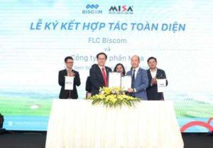 FLC Biscom и Misa JSC будут сотрудничать в сфере гольфа