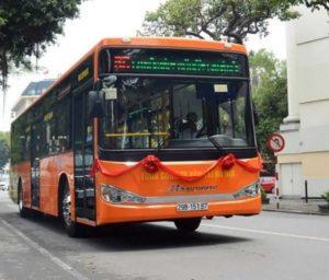 Новый автобус между Ханоем и аэропортом Noi Bai