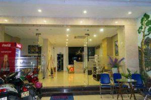Территория Lavender Nha Trang Hotel