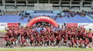 Toyota запускает свою футбольную программу во Вьетнаме
