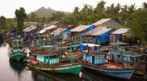 Рыбацкая деревня Ham Ninh