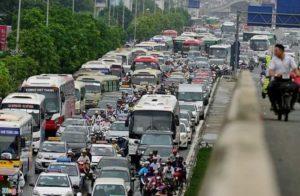 В Ханое разработают цифровую карту трафика