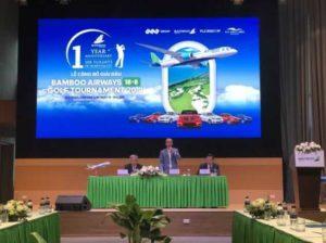 Скоро состоится турнир по гольфу Bamboo Airways Golf Tournament 2019