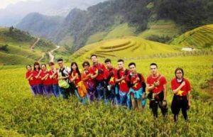 Район Mu Cang Chai очаровывает туристов
