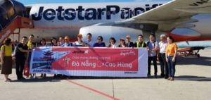 Jetstar Pacific открывает маршрут Дананг — Kao Hung