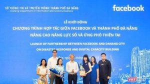 Facebook поможет Данангу справляться со стихийными бедствиями