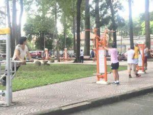 В Хошимине свалки превращают в общественные парки