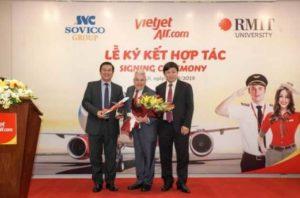 RMIT будет работать с Vietjet и Sovico по авиационной подготовке персонала