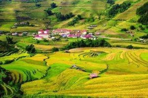 Фестиваль парапланеризма на севере Вьетнама