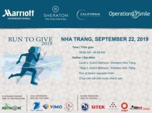 Благотворительные забеги Run to Give 2019 во Вьетнаме