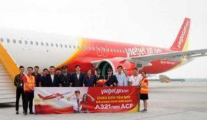 В авиапарке Vietjet Air появился новый Airbus