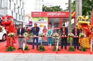Vietjet открыли сервис регистрации в центре Хошимина