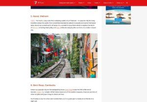 Ханой входит в ТОП-7 направлений для одиноких путешественников
