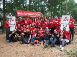 AirAsia выдвигает инициативу #AllstarsDoGood