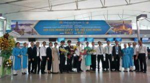 Vietnam Airlines открыли маршрут Хошимин — Бали