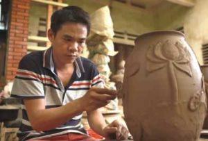 Деревня керамики Хуонг Кан