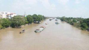 Провинция Тьензянг модернизирует канал Cho Gao
