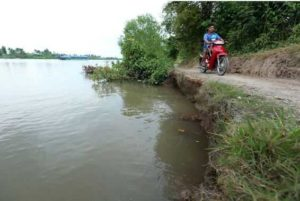 С годами канал Cho Gao подвергся эрозии, что повлияло на движение местного транспорта